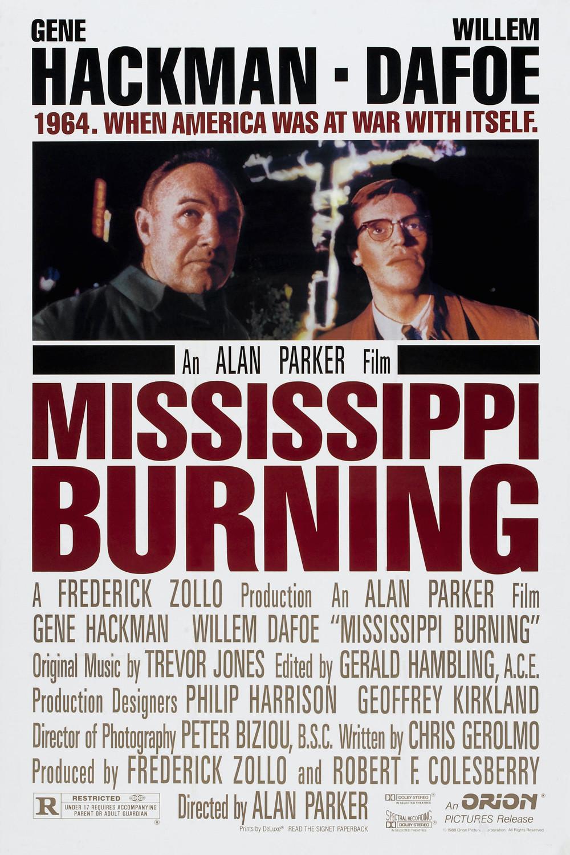 Πόστερ της ταινίας «Ο Μισισιπής Καίγεται (1988)   Mississippi Burning»