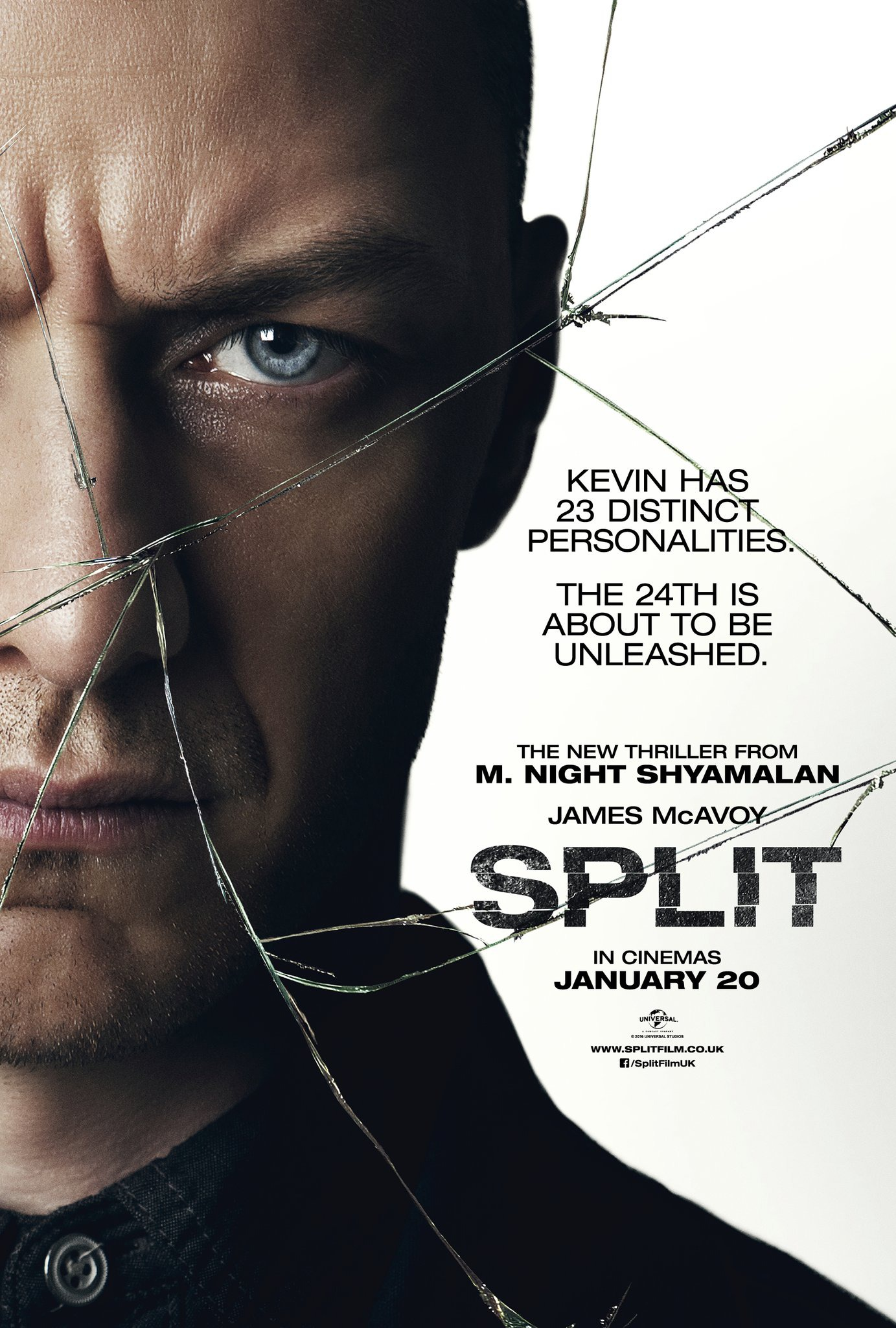 Πόστερ της ταινίας «Διχασμένος (2016) | Split»
