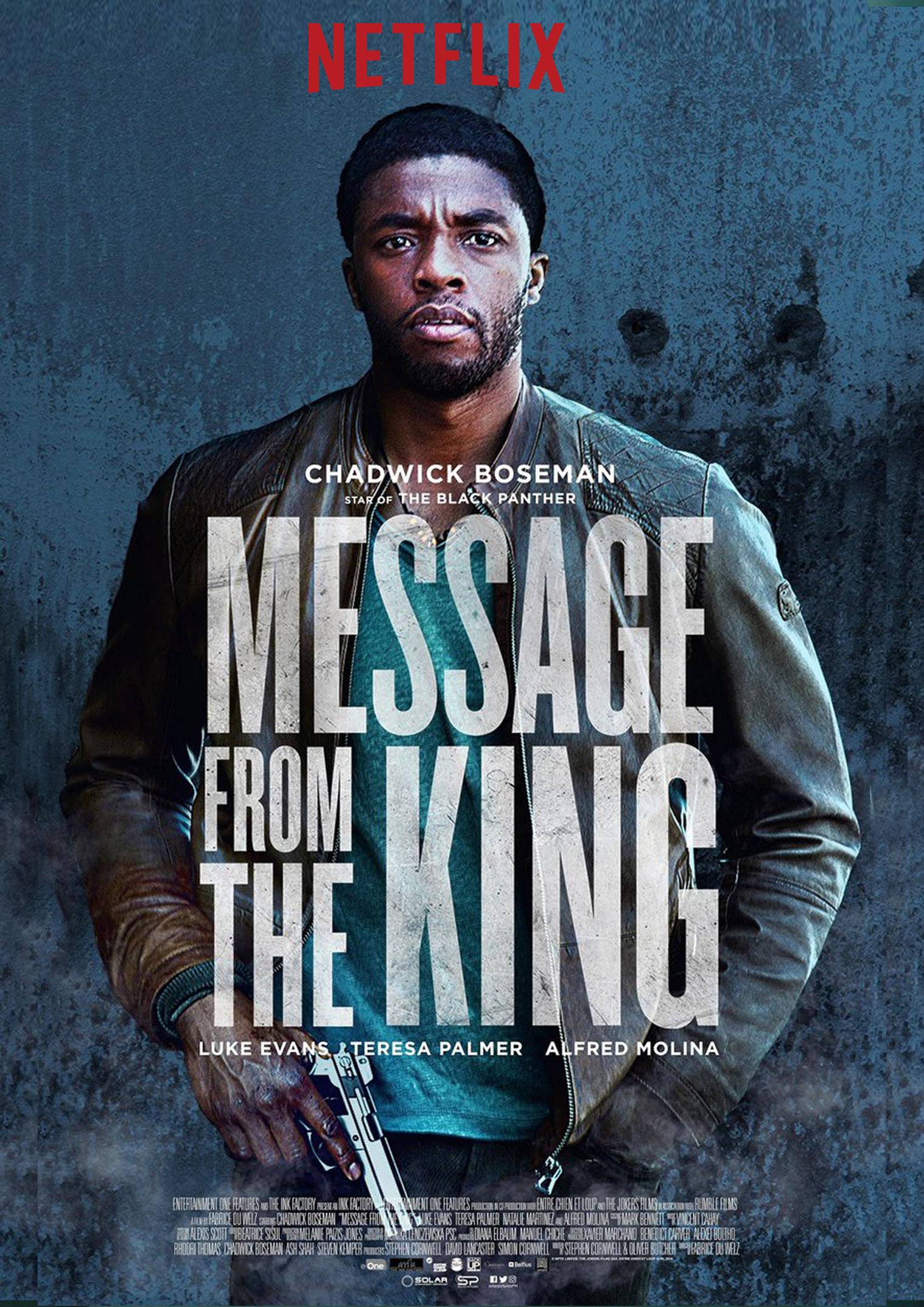 Πόστερ της ταινίας «Κινγκ: Μια Ιστορία Εκδίκησης (2016) | Message from the King»