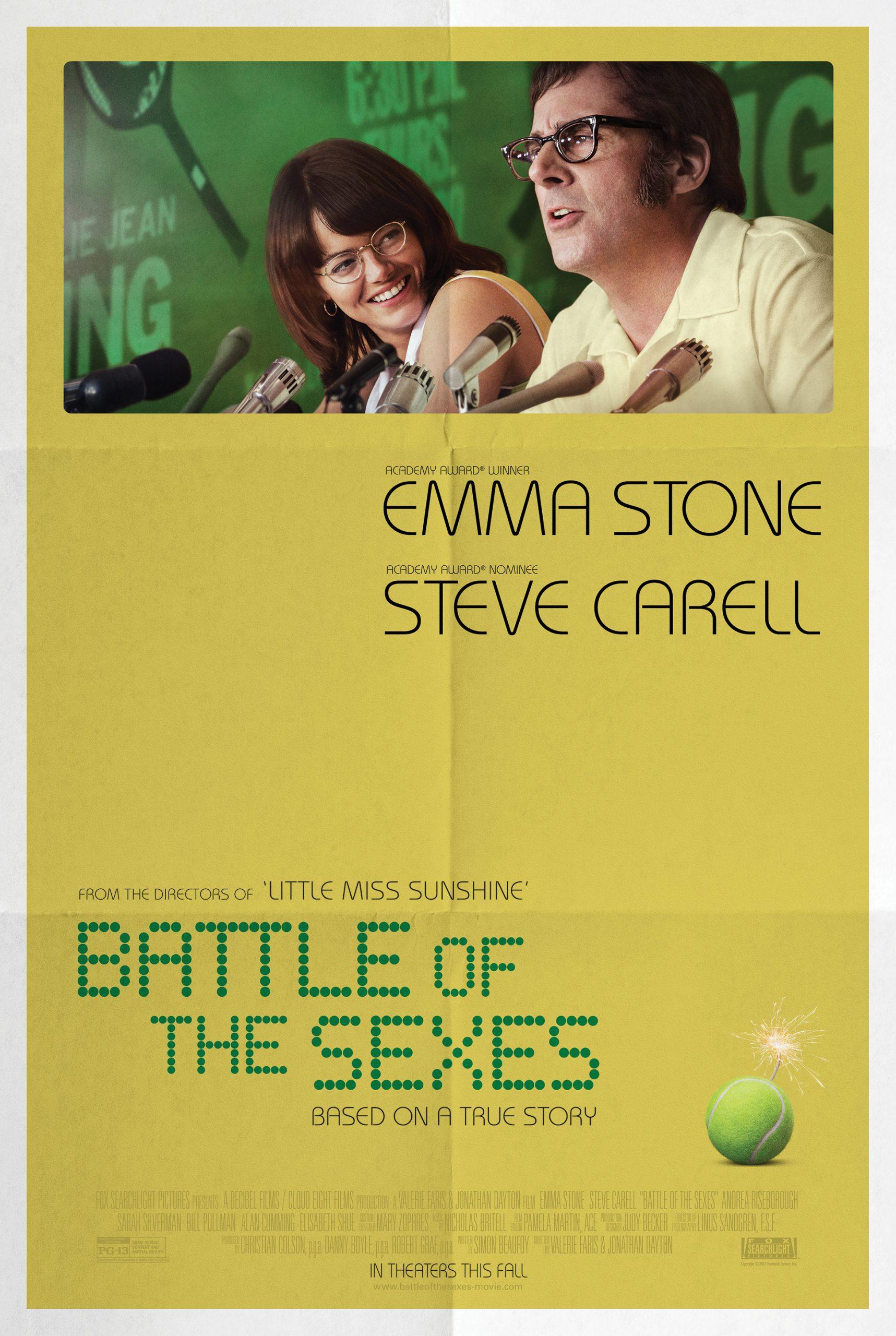 Πόστερ της ταινίας «Η Μάχη των Φύλων (2017)   Battle of the Sexes»