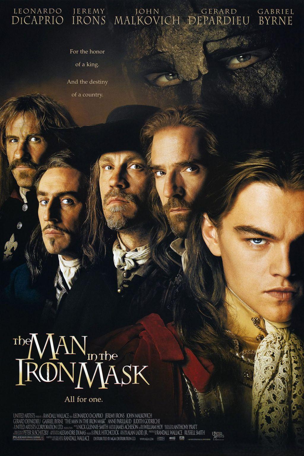 Πόστερ της ταινίας «Ο Άνθρωπος με τη Σιδερένια Μάσκα (1998)»