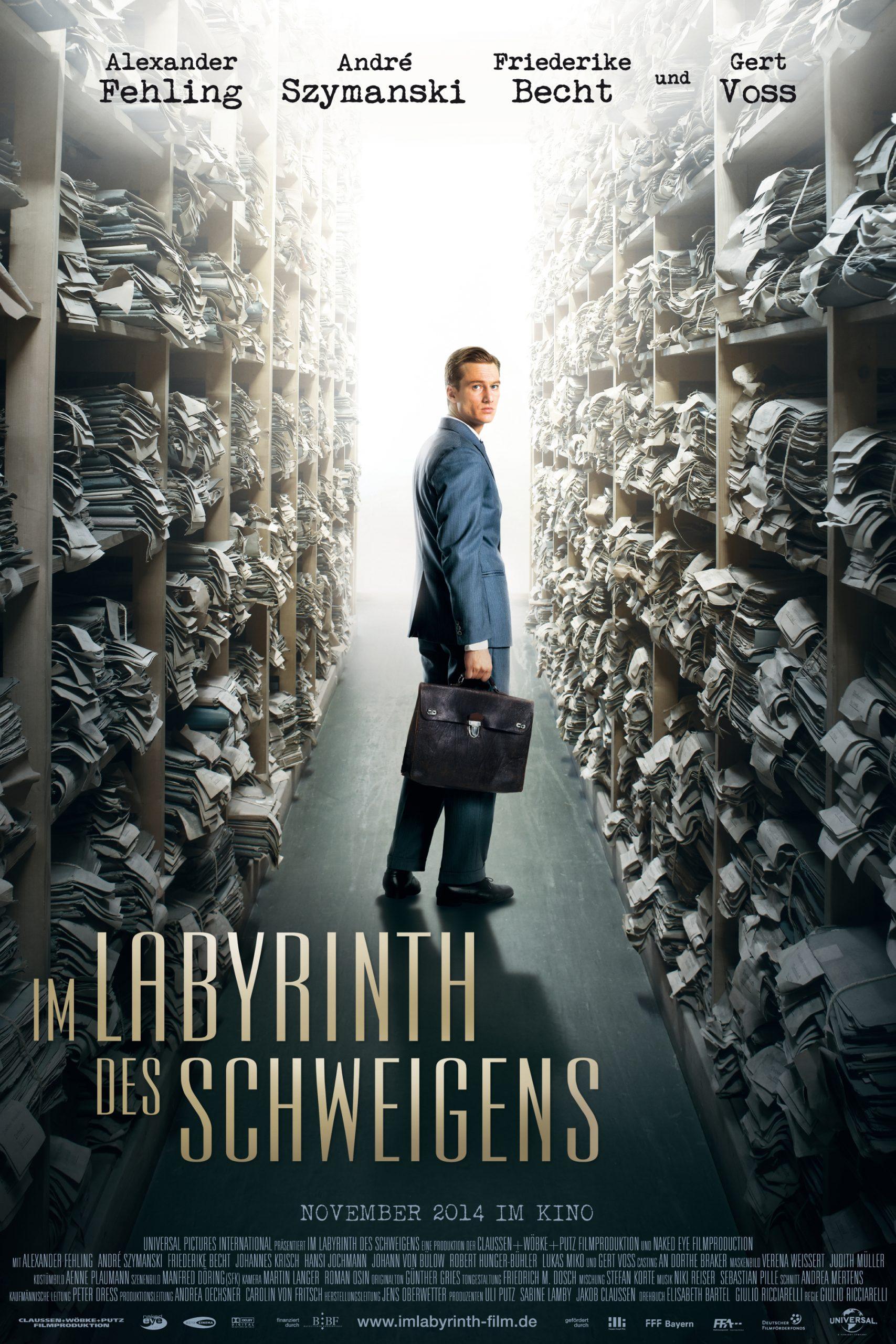 Πόστερ της ταινίας «Ο Λαβύρινθος της Σιωπής (2014) | Labyrinth of Lies»