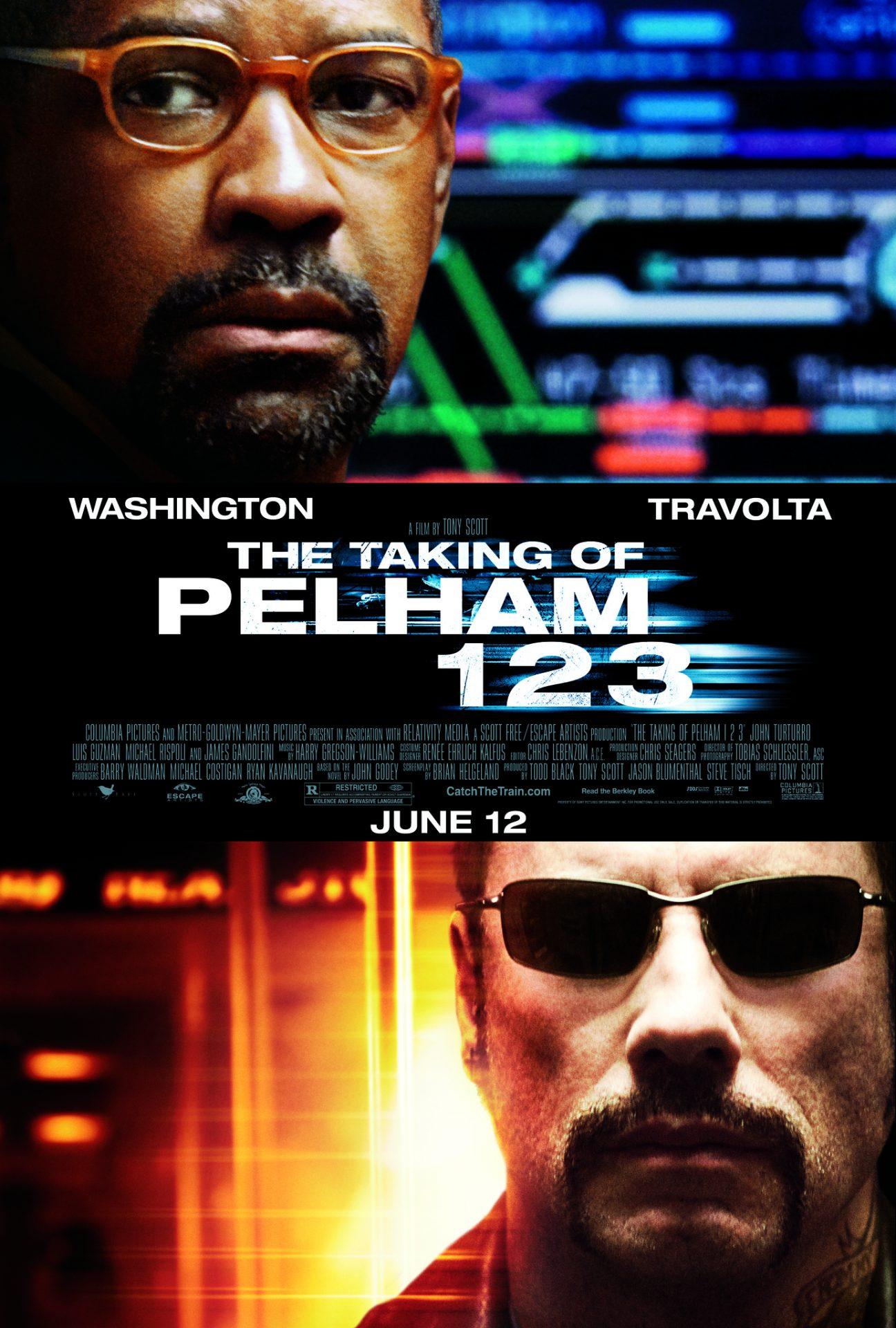 Πόστερ της ταινίας «Επίθεση στον Συρμό (2009) | The Taking of Pelham 123»