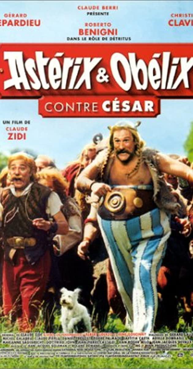 Πόστερ της ταινίας «Αστερίξ και Οβελίξ Εναντίον Καίσαρα (1999)»