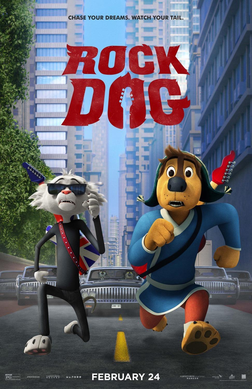 Πόστερ της ταινίας «Μπάντι, ο Ροκ Σταρ (2016)   Rock Dog»