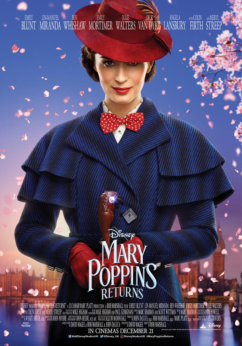 Πόστερ της ταινίας «Η Μαίρη Πόπινς Επιστρέφει (2018)   Mary Poppins Returns»