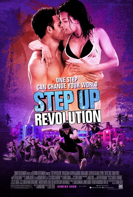 Πόστερ της ταινίας «Step Up Revolution (2012) | Step Up 4: Miami Heat»