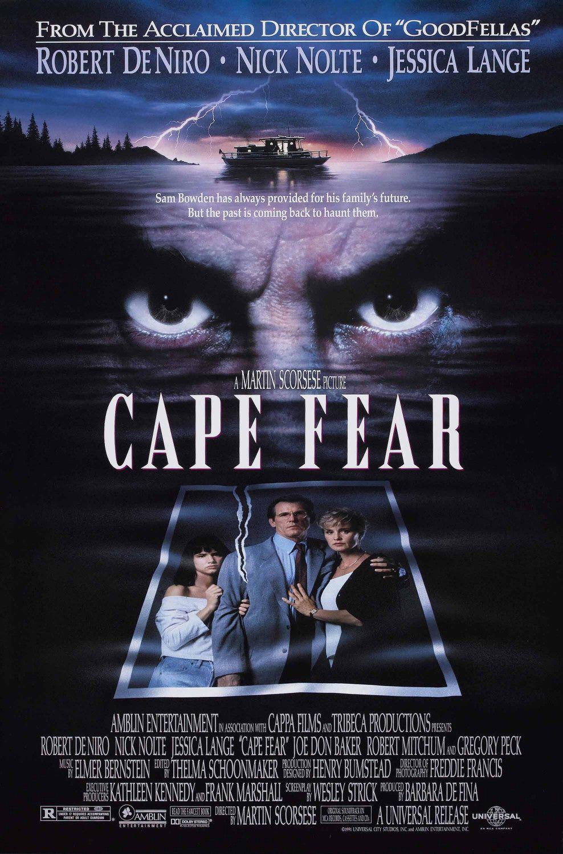 Πόστερ της ταινίας «Το Ακρωτήρι του Φόβου (1991)   Cape Fear»