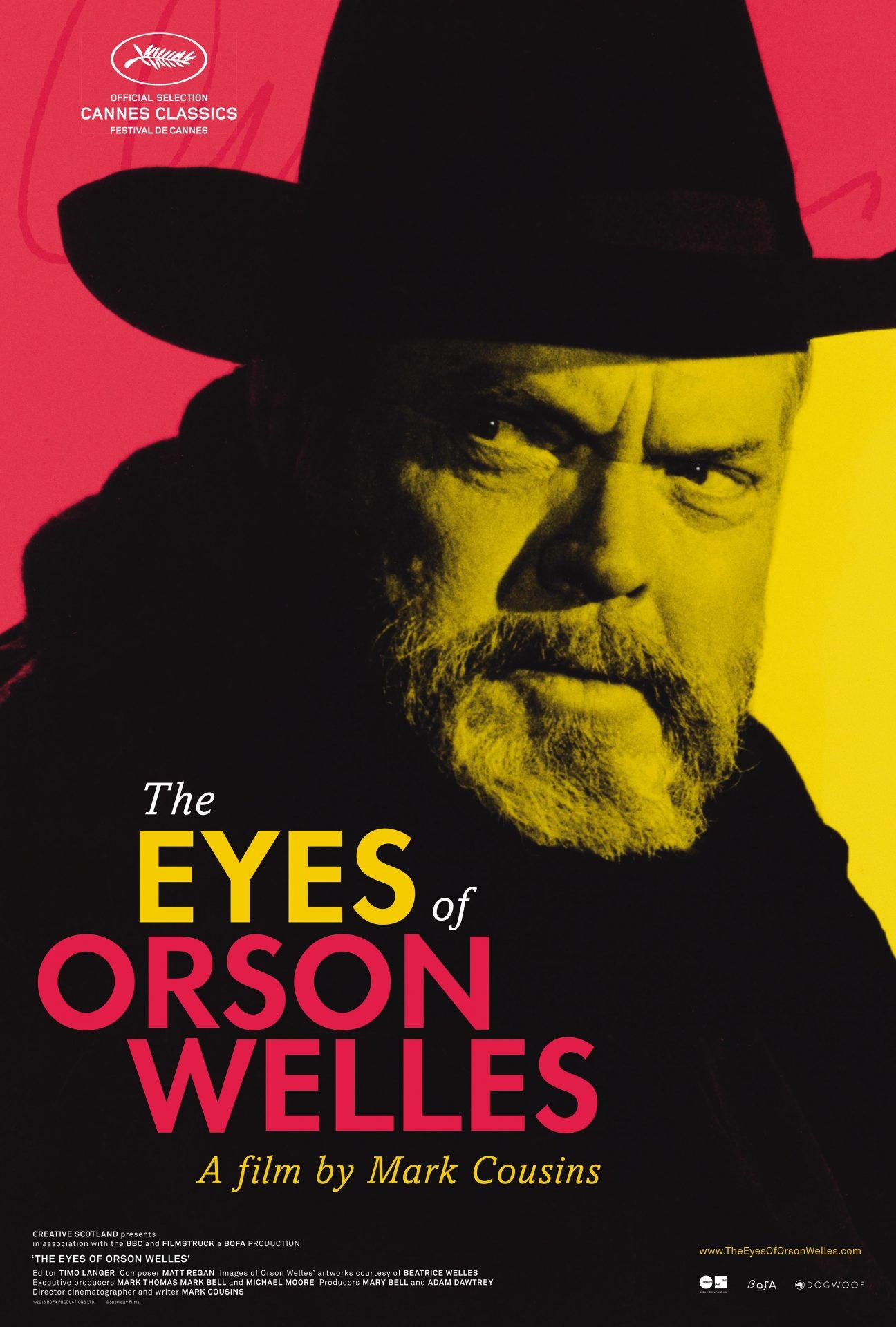 Πόστερ της ταινίας «Το Βλέμμα του Ορσον Γουέλς (2018) | The Eyes of Orson Welles»