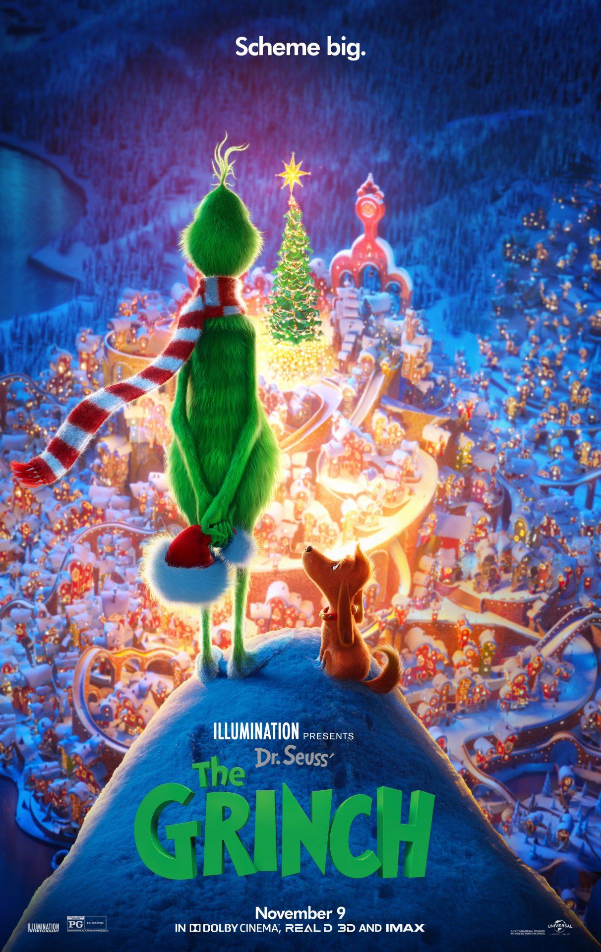 Πόστερ της ταινίας «Ο Γκριντς (2018) | The Grinch»
